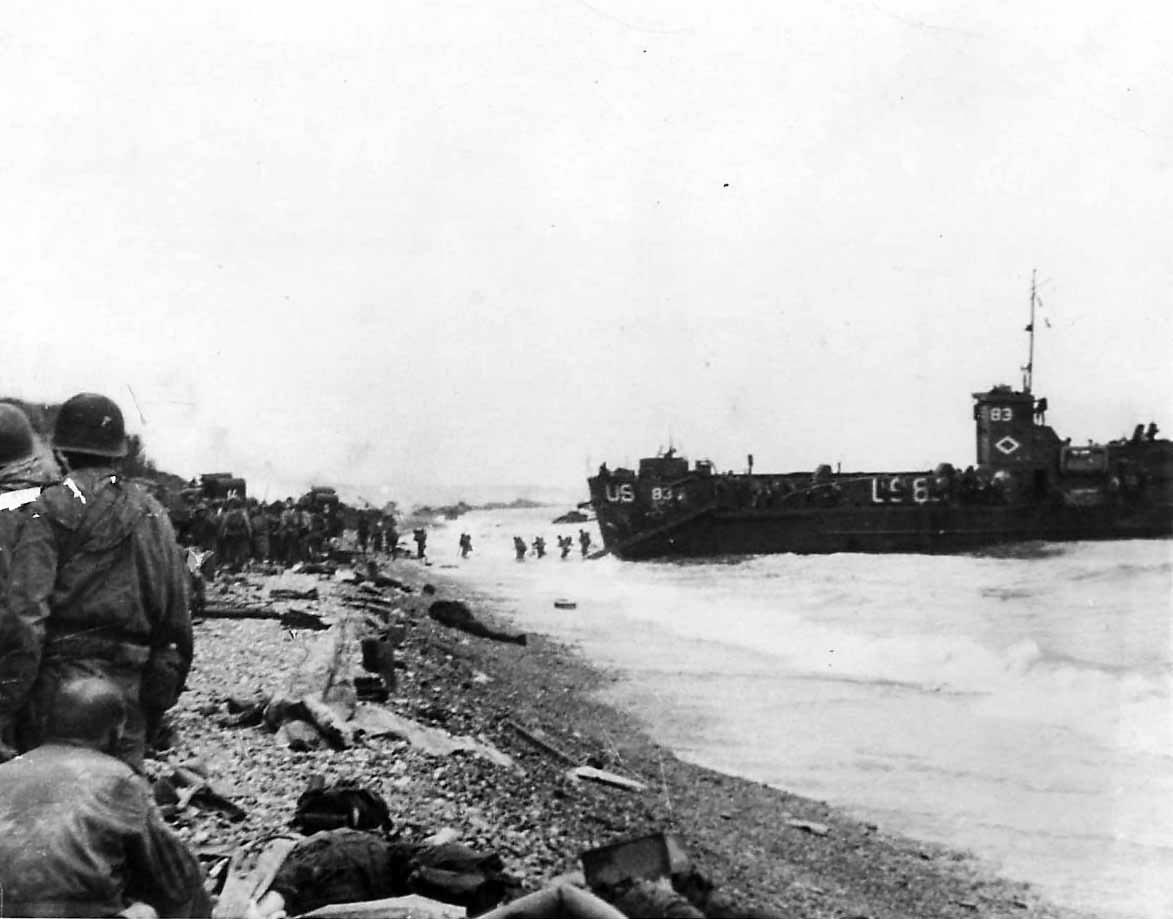 3d Battalion, 16th Infantry Regiment, 1st Infantry Division on Omaha Beach