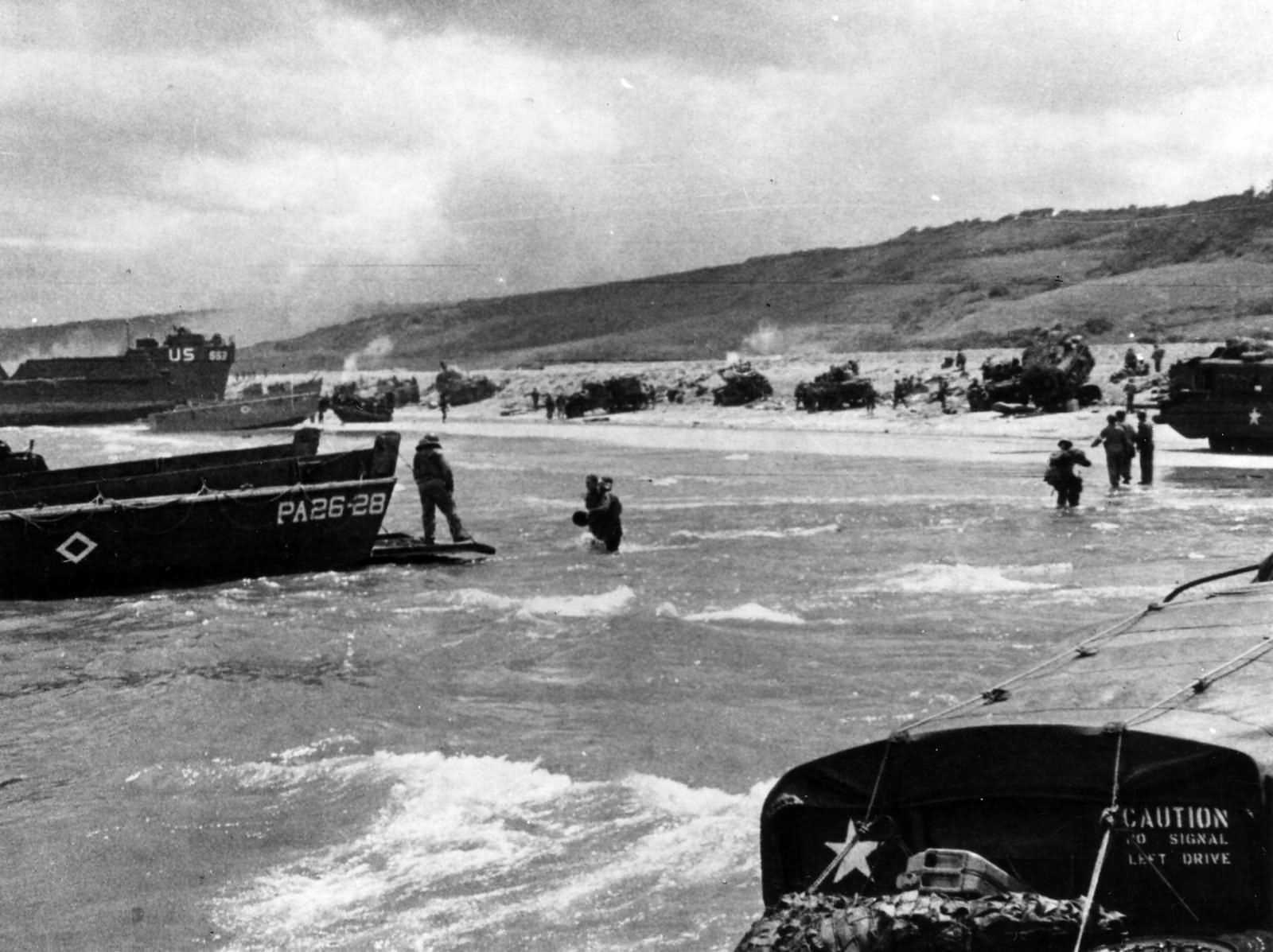 D-Day Omaha Beach June 6 Normandy 1944