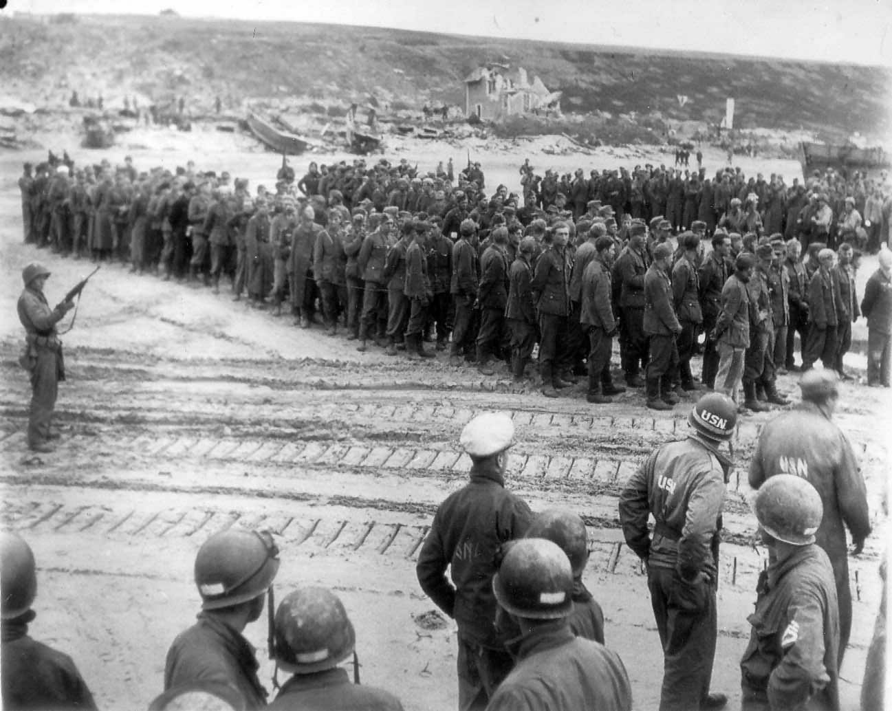 German POWs Normandy 15 June 1944