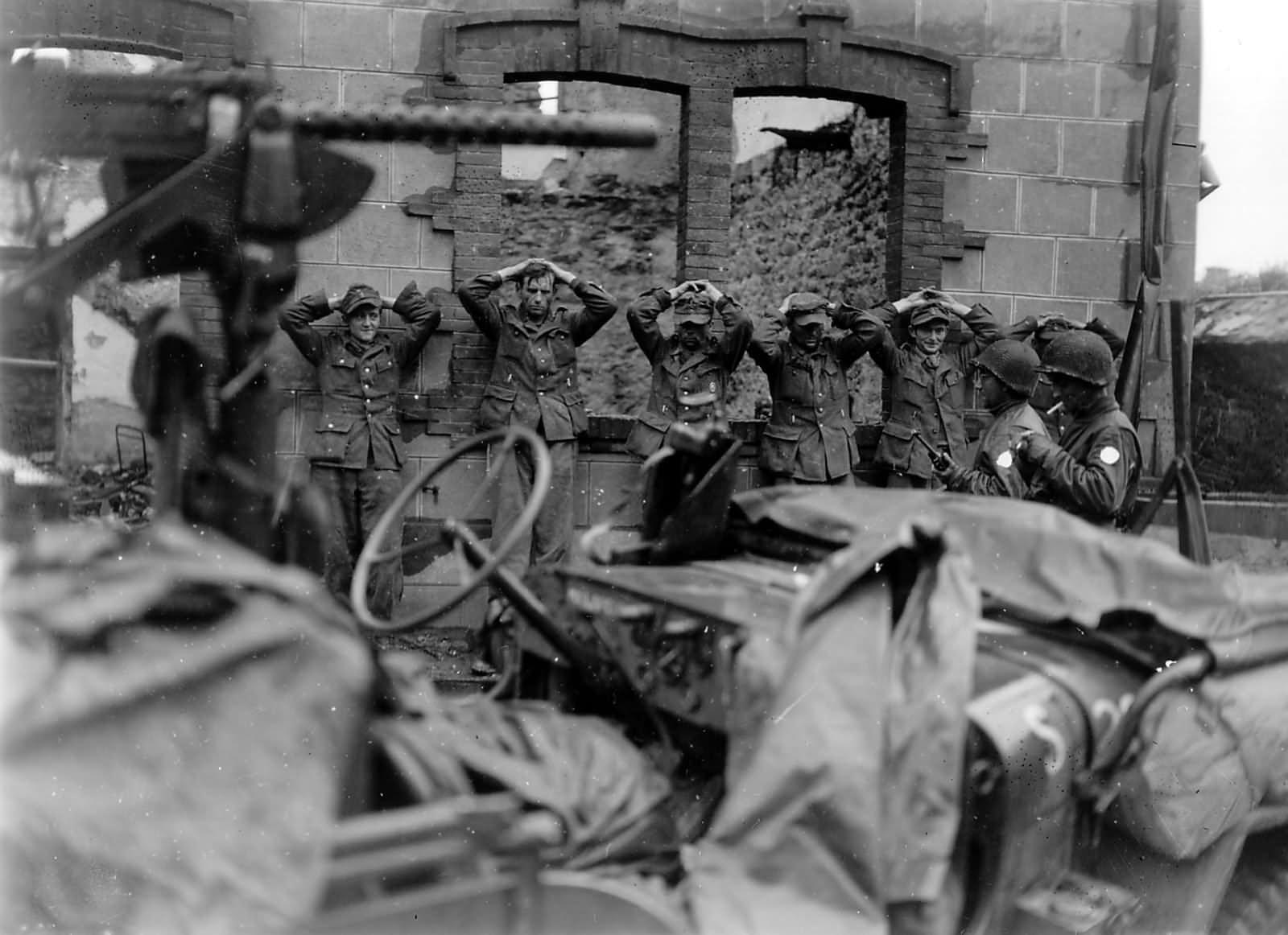 German prisoners of war 1944 France