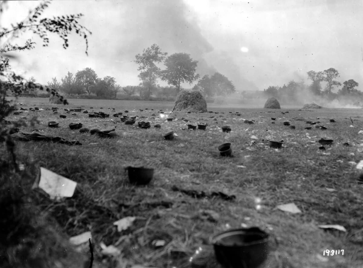 Invasion of Normandy D-Day Helmets