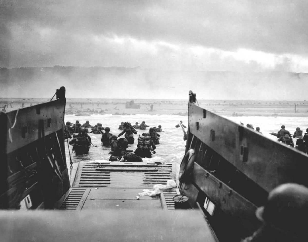 Invasion of Normandy D-Day at Omaha Beach