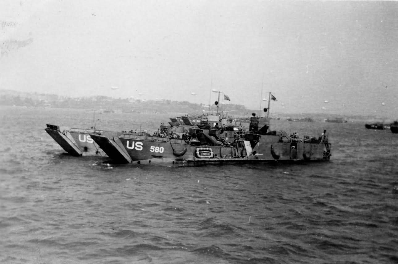 Landing Craft Tank LCT(6)-580 Normandy June 1944