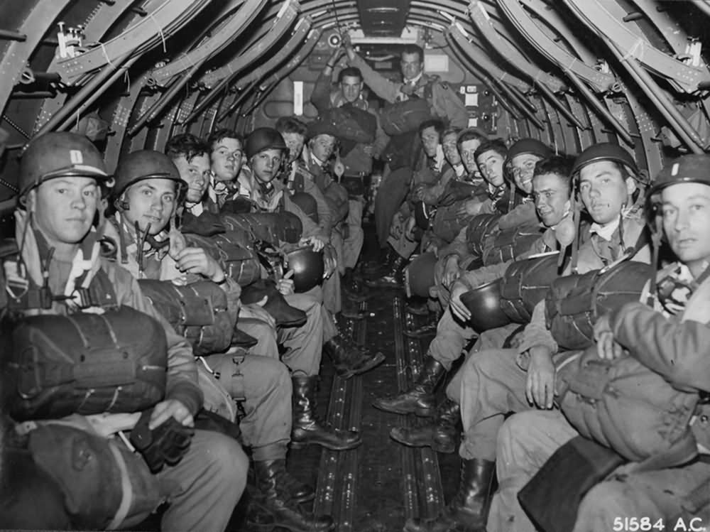 Paratroopers To France D-Day Normandy 1944