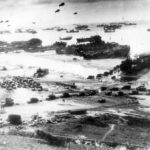 Beachhead LST ships Landing Craft D-Day 1944