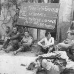 US 82nd Airborne troops in Saint-Sauveur-le-Vicomte Normandy
