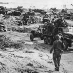 US Troops Prepare to Move Inland from Normandy Beachhead
