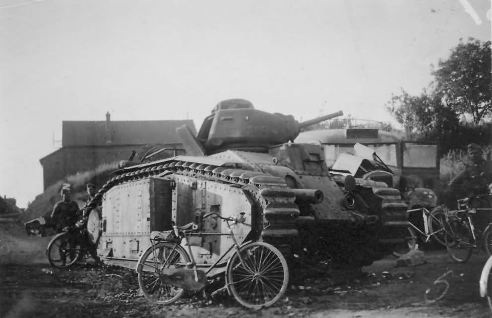 B1 bis tank France 1940 19