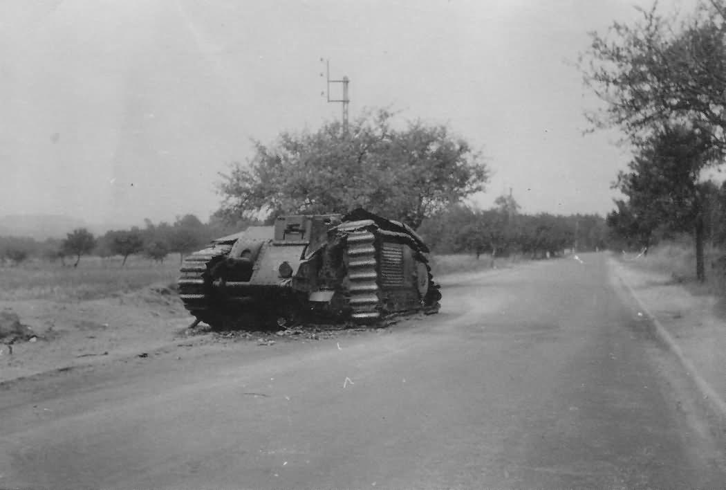 B1 bis tank France 1940 21