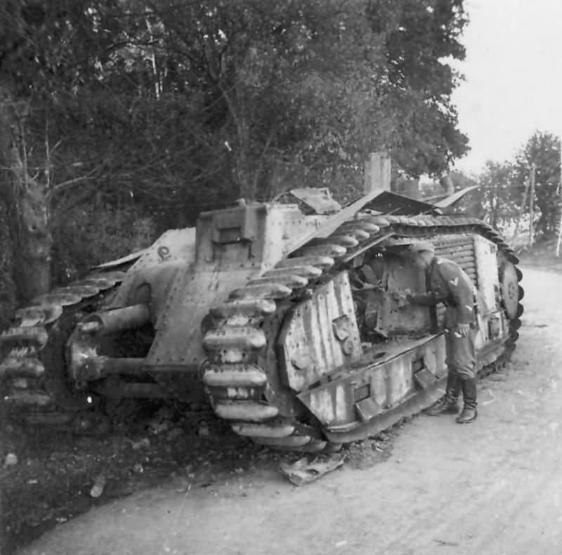 B1 bis tank France 1940 24