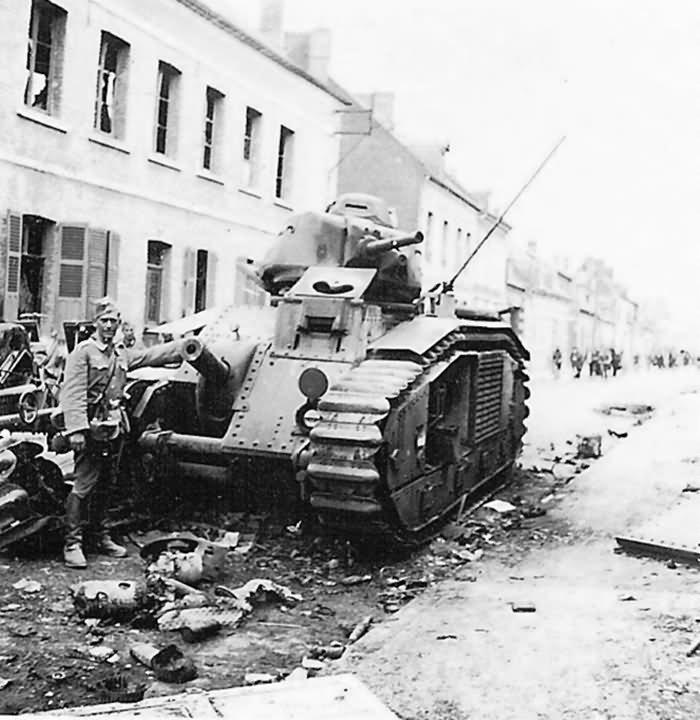 B1 bis tank France 1940 3