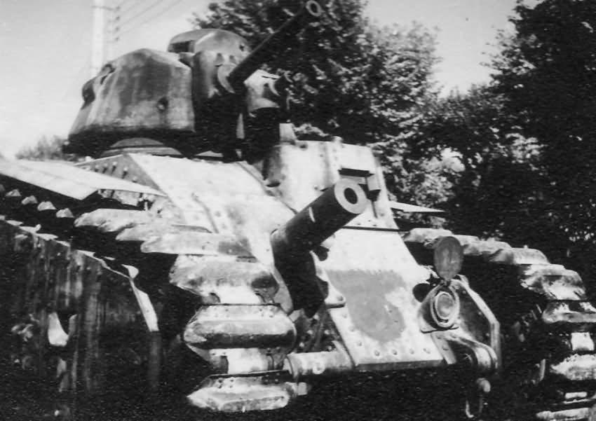 B1 bis tank France 1940 4