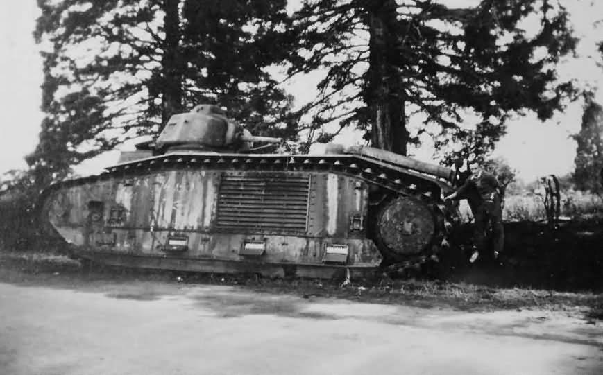 B1 bis tank France 1940 5