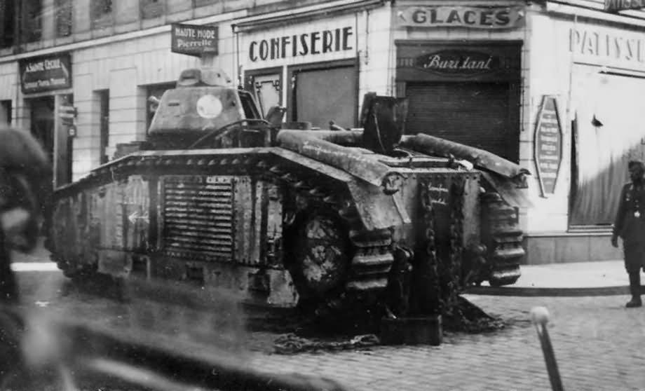B1 bis tank France 1940 8
