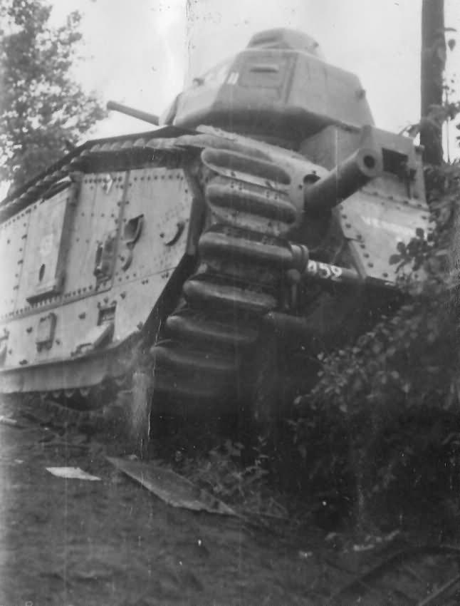 Char B1 bis #452 named Verdun II of 1st DCR