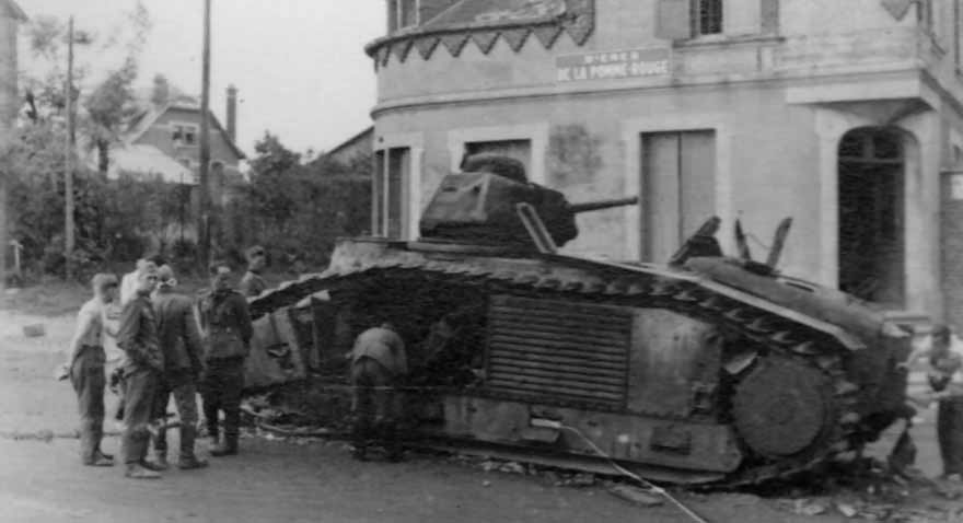Char B1 bis french tank 2