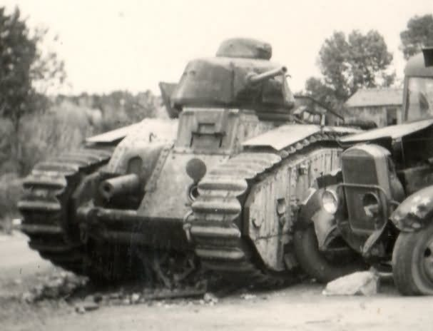 French Char B1 bis tank 8
