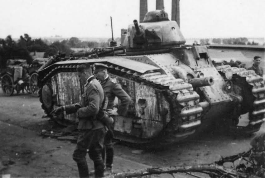 Char B1 bis tank 3