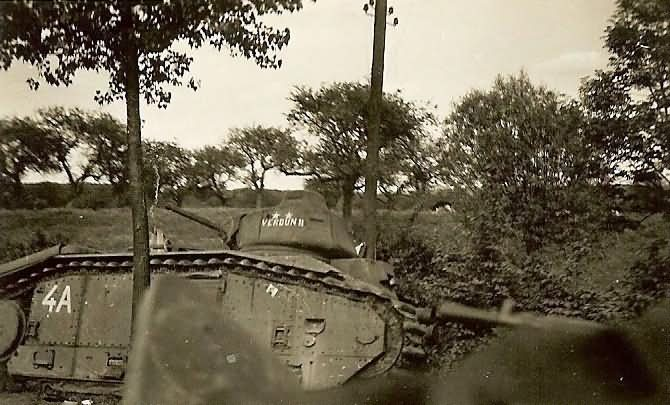 Char B1 tank VERDUN II
