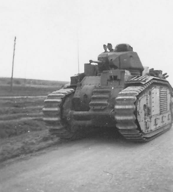 German Char B1 bis Panzerkampfwagen B-2 740 (f)
