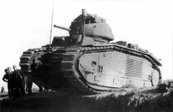 German Panzerkampfwagen B2 740 (f) 1