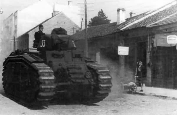Flammpanzer Panzerkampfwagen B2 740(f) code 33