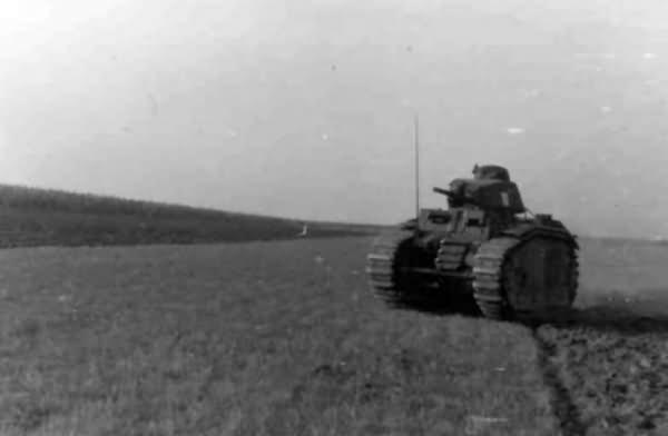 Panzerkampfwagen B2 740 f 16