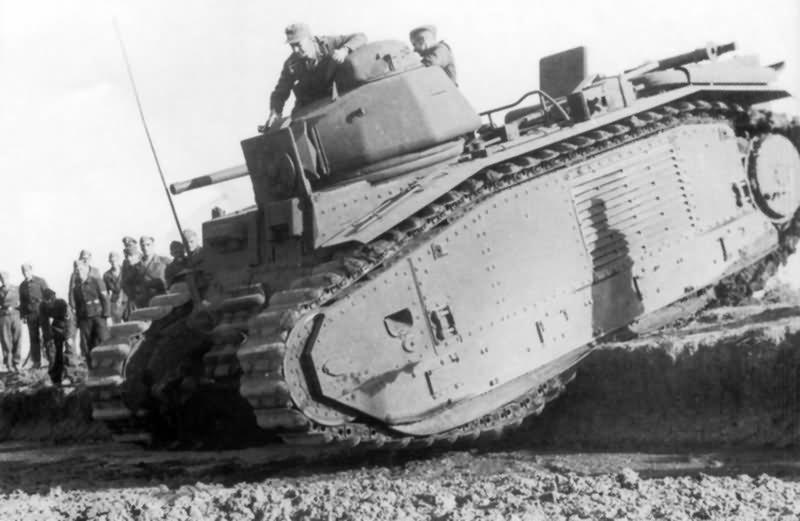 Panzerkampfwagen B2 740 (f) 3