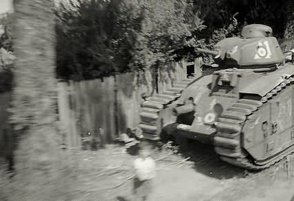 French Char B1 bis tank 1940