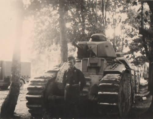 Char b1 tank France 1940