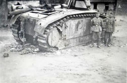 French Char B1 bis tank 2