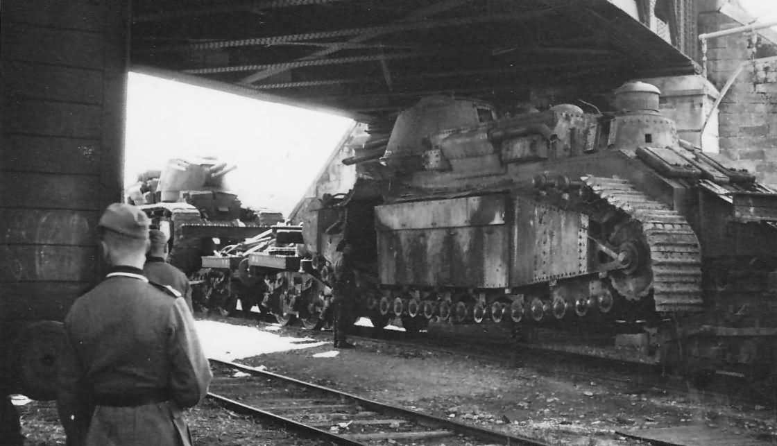 Char 2C tank Troyes France 1940
