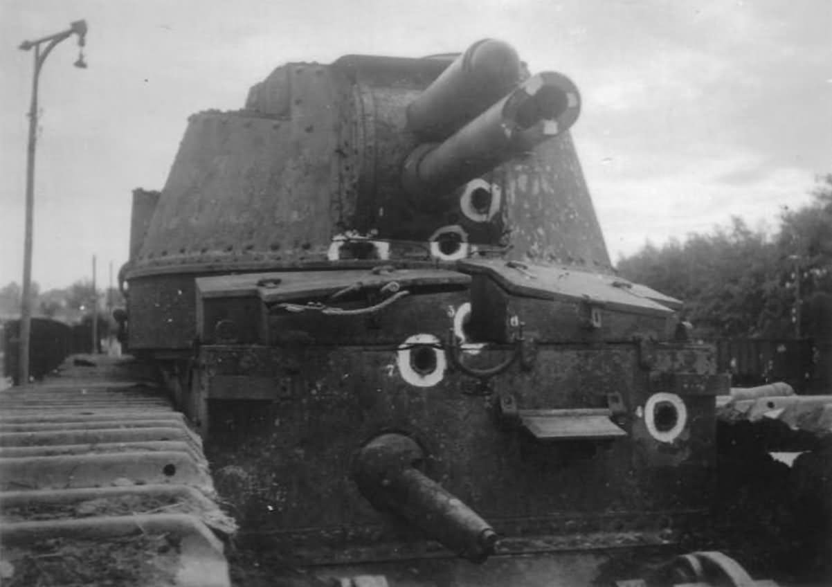 Detail of the turret of tank Char 2C