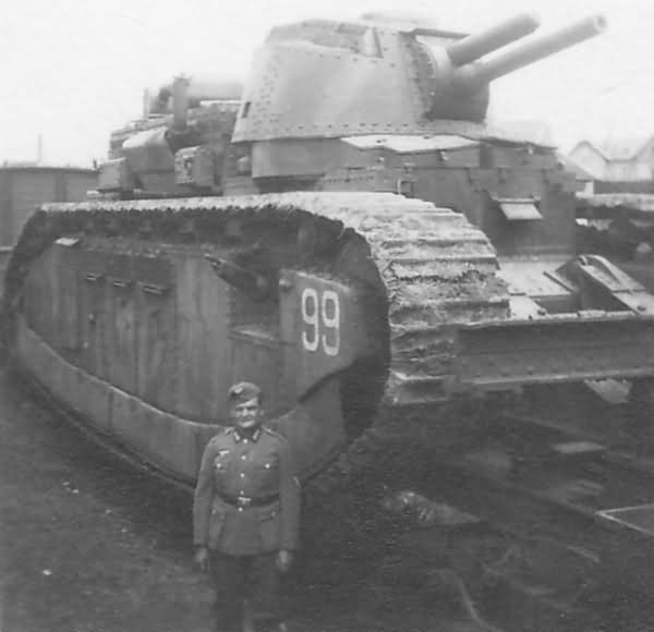 French super heavy tank Char 2C number 99 named Champagne