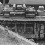 CHAR 2C (FCM 2) tank side view