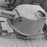 CHAR 2C (FCM 2) tank top view of the turret
