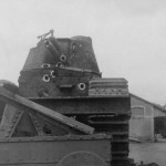 French super heavy tank Char 2C front view