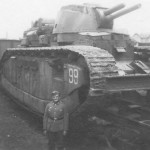 French super heavy tank Char 2C number 99 Champagne