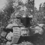 FCM 36 tank 30018 of the 7e BCC, France 1940
