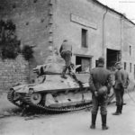 French light tank FCM 36 4