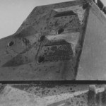 FCM 36 – details of the damaged turret