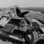 Light infantry tank FCM 36, Chemery 1940