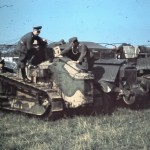 Renault FT-17 color photo 1940