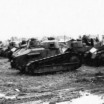 FT 17 light tanks 1940