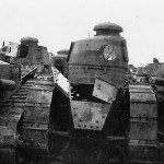 Renault FT 17 light tanks France 1940