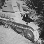 Renault R 35 french light infantry tank