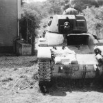 French tank Renault R35 number 500355
