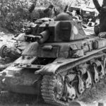 Destroyed R35 tanks