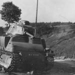 Abandoned Somua S35 tank M10754