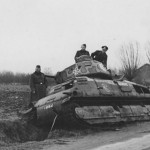 Captured Somua S35 tank